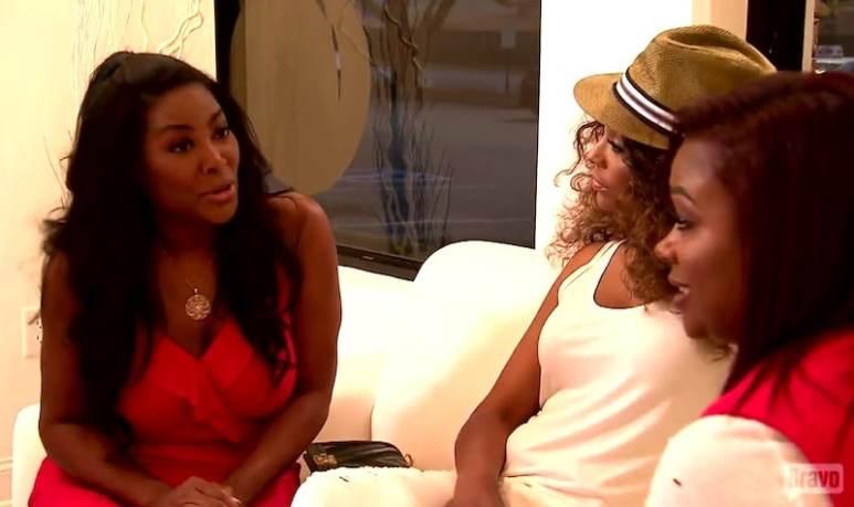 Kenya talking about Sheree's home on The Real Housewives of Atlanta Season 9