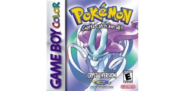 Pokemon Crystal box