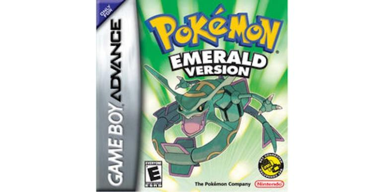 Pokemon Emerald box