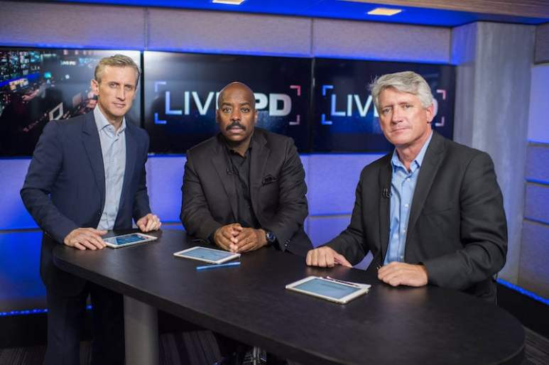 Dan Abrams, Kevin Jackson, Rich Emberlin on Live PD