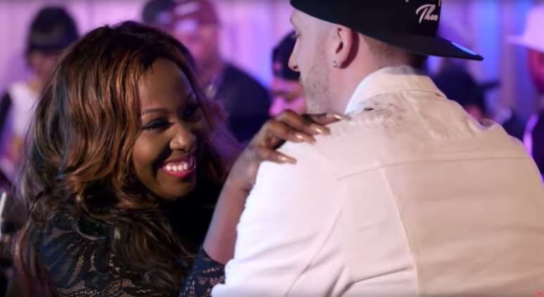 DJ Drewski flirts with Young B aka Bianca Bonnie on this week's Love & Hip Hop NY