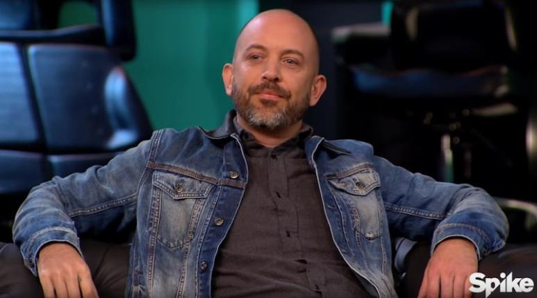Chris Garver during his appearance as a guest-judge on this week's Ink Master
