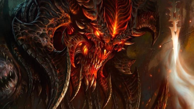 A picture of video game villain Diablo