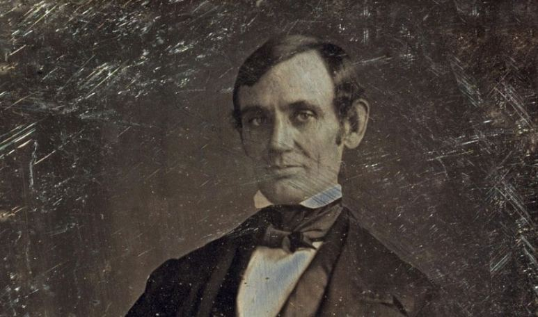 Abraham Lincoln when he was in the U.S. House of Representatives