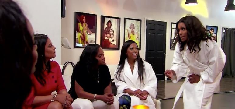 Topless photo shoot goes bad on Married to Medicine