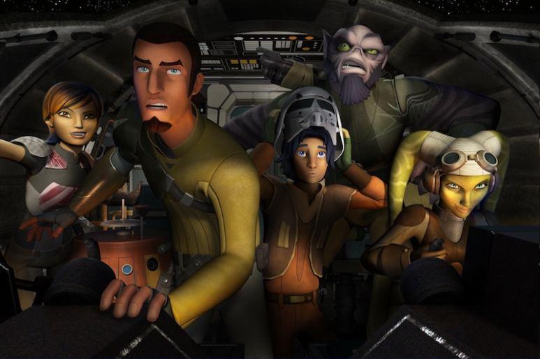 Still from Star Wars: Rebels
