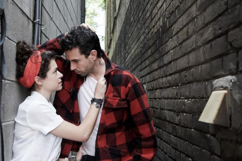 Real-life couple Tatiana Maslany and Tom Cullen in Joey Klein's The Other Half