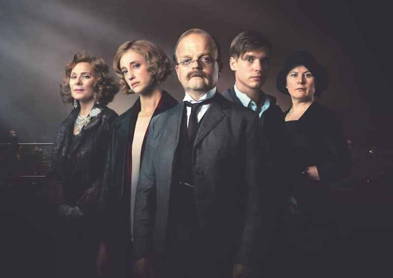 Cast-members Cattrall, Andrea Riseborough, Toby Jones, Billy Howle and Monica Dolan