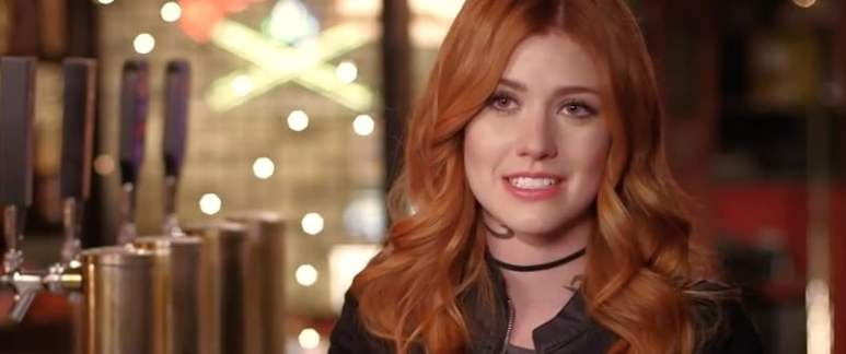Katherine McNamara plays Clary and says we can expect great thing this season