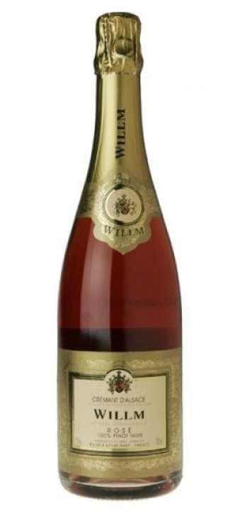 Willm Cremant d'Alsace Rosé Sparkling Pinot Noir