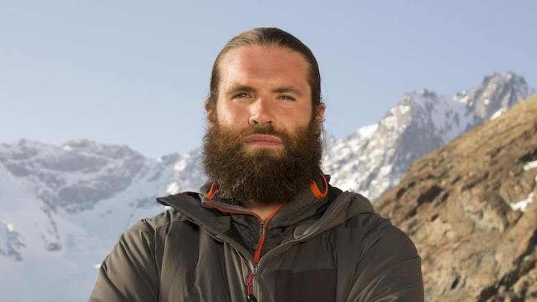 Adam Kimble in his promo shot for The Wheel on Discovery. Pic: Discovery
