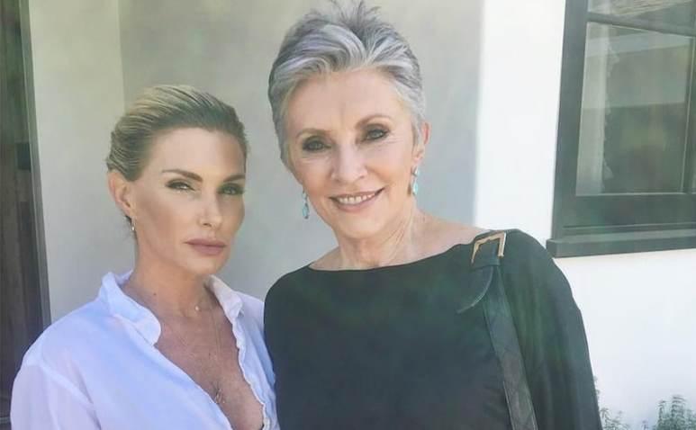 Eden Sassoon with her mum Beverly Adams