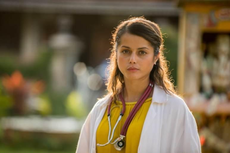 Amrita Acharia as Doctor Ruby Walker in The Good Karma Hospital