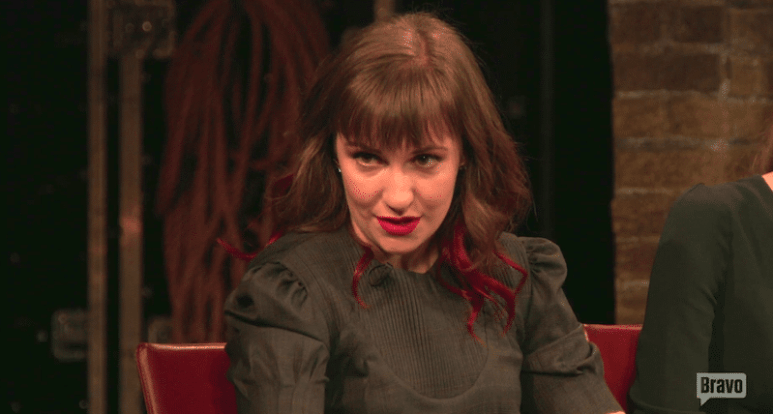 Lena Dunham on Inside the Actors Studio with James Lipton