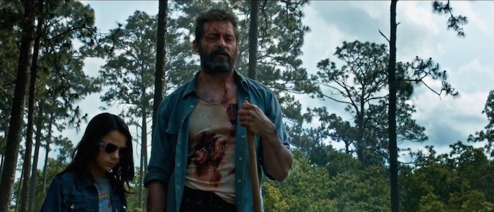 Feral mutants Laura, played by Dafne Keen, and Logan, played by Jackman