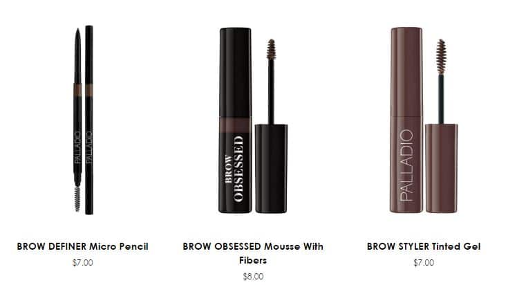 Palladio Brow Collection