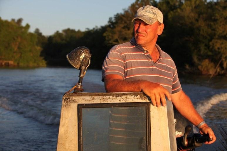 Troy Landry on Swamp People