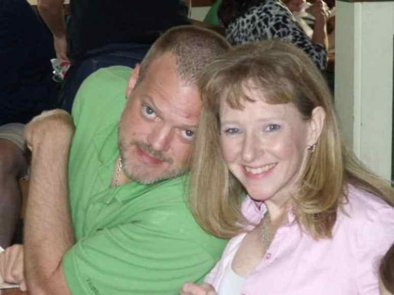 Matthew and Dominique Leili in happier times