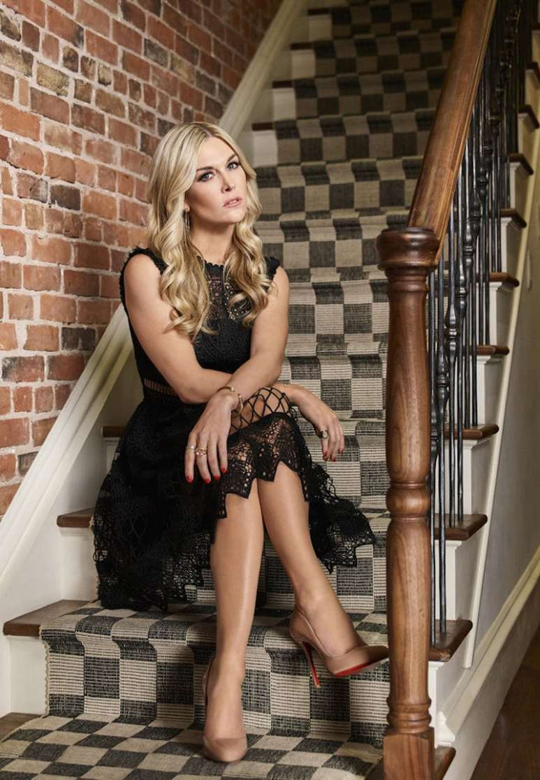 Tinsley in her promotional photo for The Real Housewives of New York City