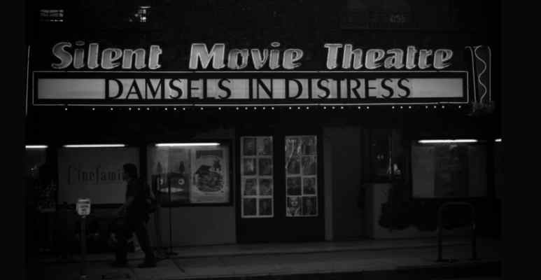 Haunted silent movie theatre as Ghost Adventures