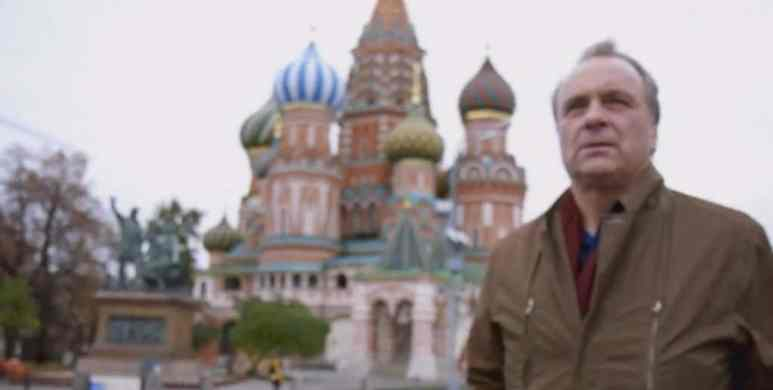 The pair travel to Russia to examine the possible role of the Soviets in the murder