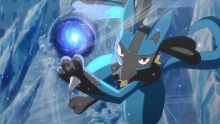 Artwork from Lucario and the Mystery of Mew