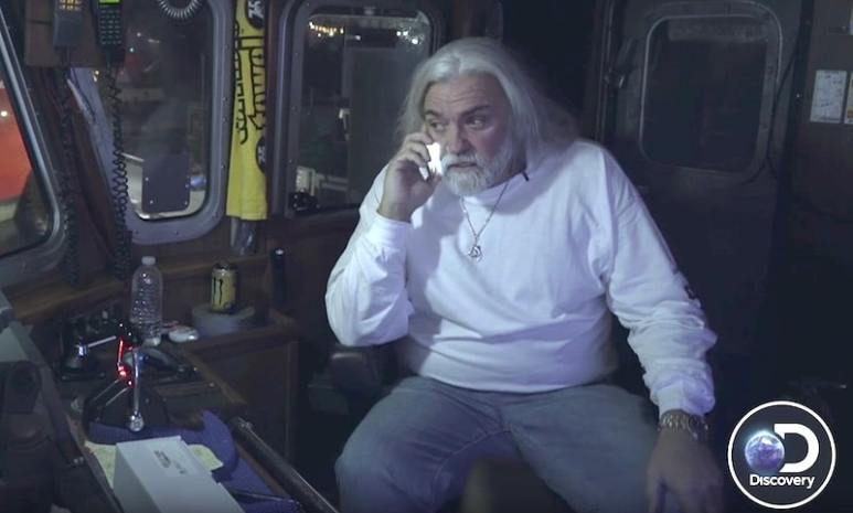 Wild Bill is talking to a friend when he spies trouble going down on deck