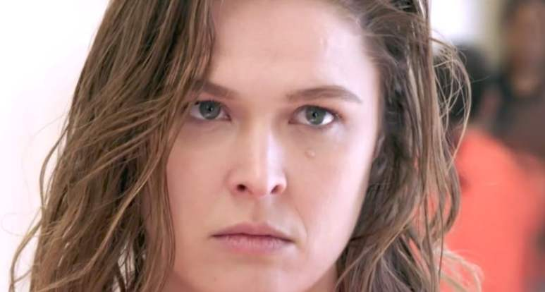 Ronda Rousey in character as Devon on this week's Blindspot