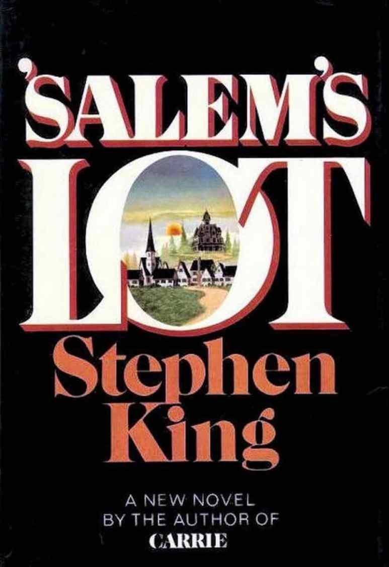 First edition cover of Stephen King's book Salem's Lot