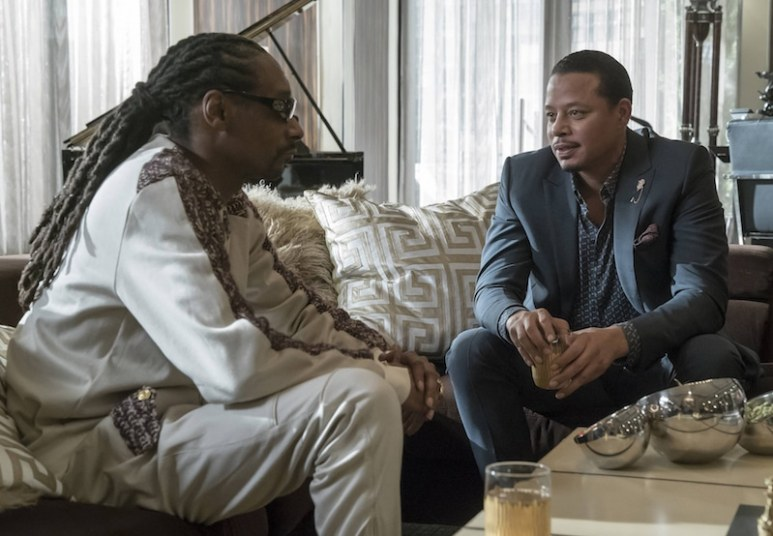 Snoop Dogg talks to Terrence Howard's Lucious on this week's Empire