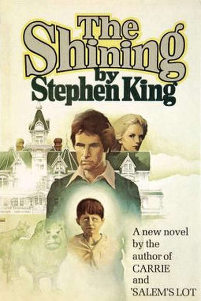 First edition cover of Stephen King's book The Shining