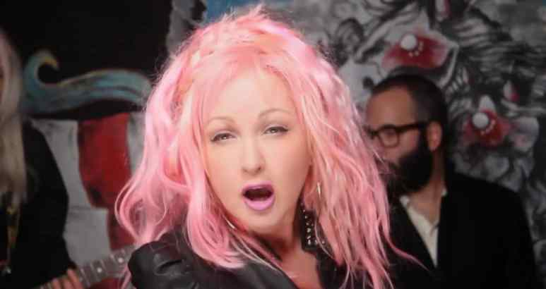 Cyndi Lauper in Funnel of Love