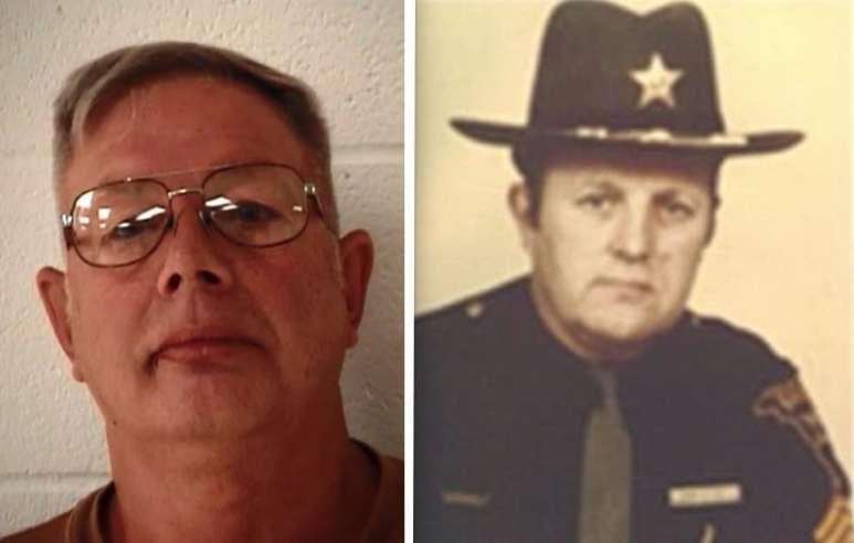 Headshots of Mitchell Ruble and Deputy Lt. Ray 'Joe' Clark