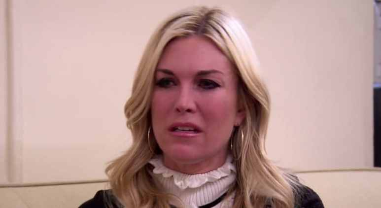 Tinsley Mortimer in tears on RHONY
