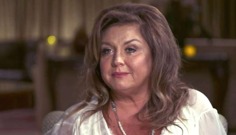 Dance Moms star Abby Lee Miller in tears during an interview on Dance Moms: Abby Tells All
