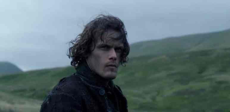 Jamie (Sam Heughan) in Scotland in Outlander Season 3