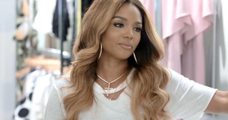 Rasheeda looking upset on Love & Hip Hop Atlanta