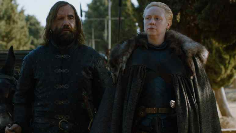 The Hound and Brienne of Tarth