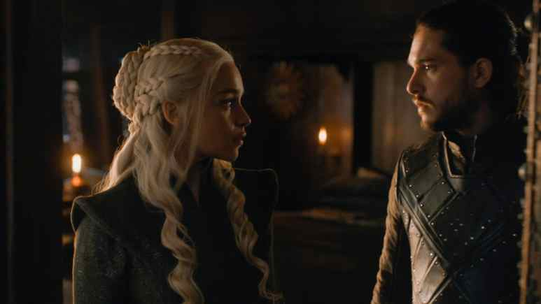 Dany and Jon Snow a.k.a, Aegon Targaryen
