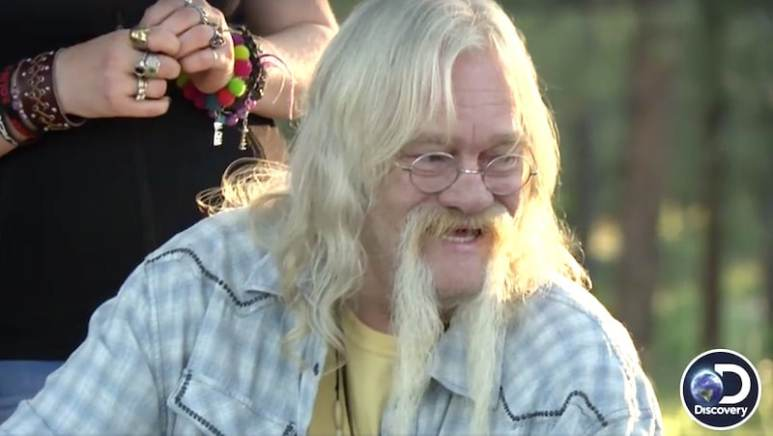 Billy Brown smiling on the Alaskan Bush People finale