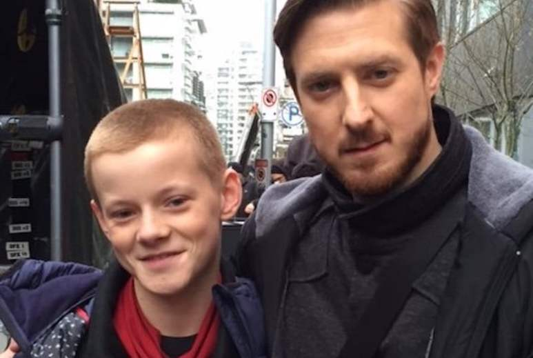 Cory Gruter-Andrew and Arthur Darvill