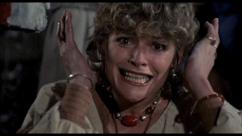 Helen Shaver screaming in The Amityville Horror