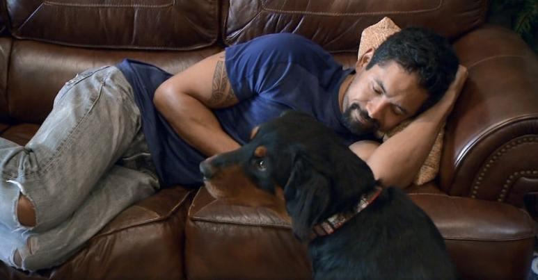 Kalani and Bass on Rescue Dog to Super Dog