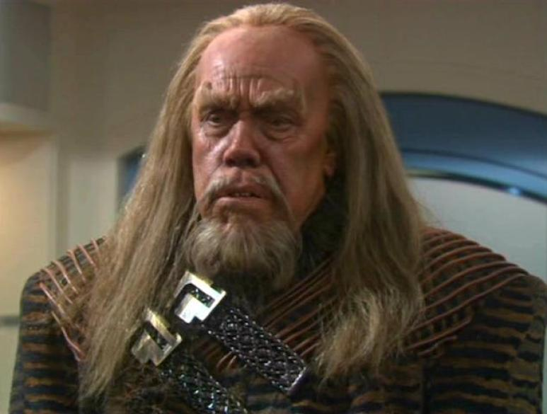 A Klingon from the prime timeline