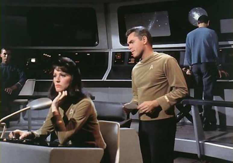 A picture of the pre-Captain Kirk Star Trek