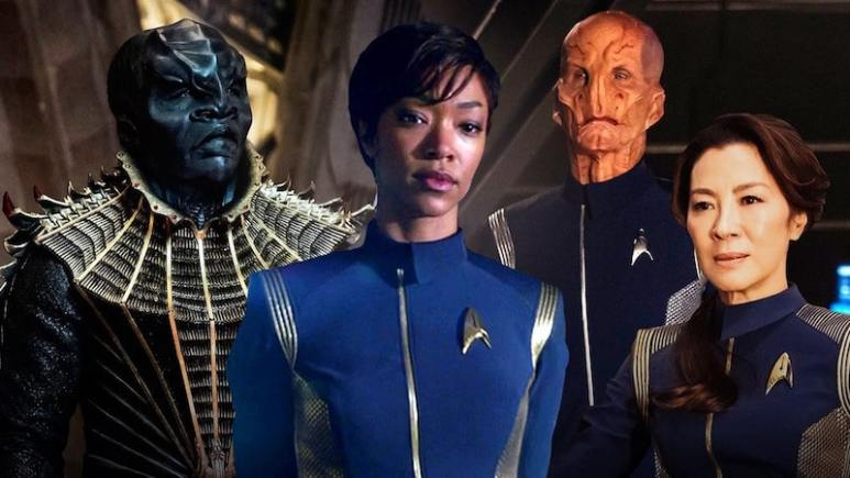 Star Trek: Discovery group shot