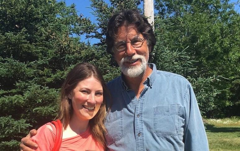 The Curse of Oak Island star Rick Lagina poses for a photo on Oak Island