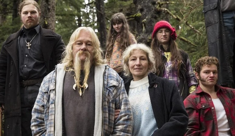 The Brown family from Alaskan Bush People