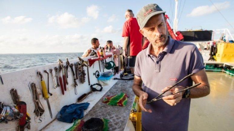 Marine archaeologist Franck Goddio