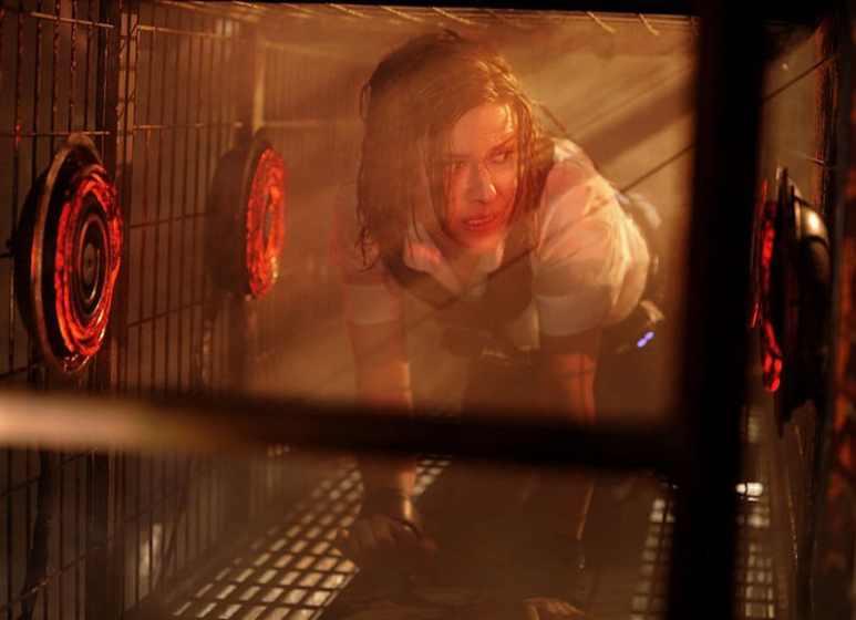 Caroline as Debbie in Saw VI